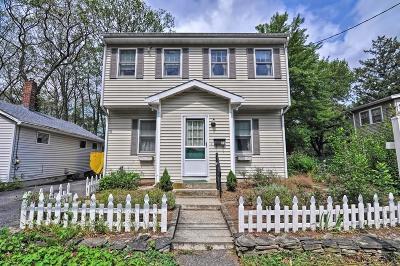 Natick Single Family Home Under Agreement: 29 Pinehurst Avenue