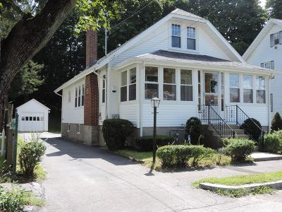 Quincy Single Family Home Under Agreement: 320 Elmwoood Ave