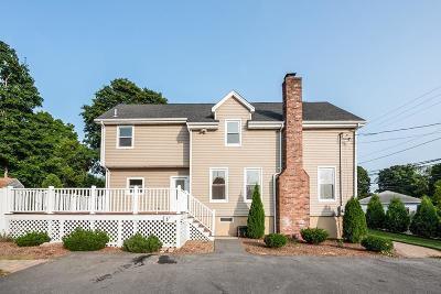 Braintree Single Family Home Under Agreement: 5 Cavanaugh Rd