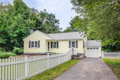 Hopkinton Single Family Home Under Agreement: 12 Curtis Rd