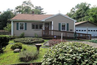 Pembroke Single Family Home Under Agreement: 881 Center St