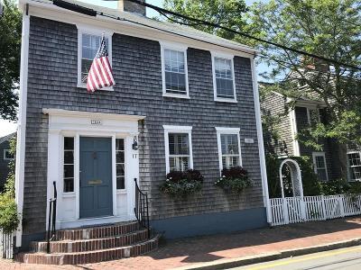 MA-Nantucket County Single Family Home For Sale: 17 Pine Street