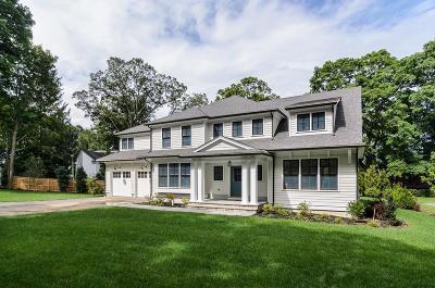 Wellesley Single Family Home Under Agreement: 7 Park Ave