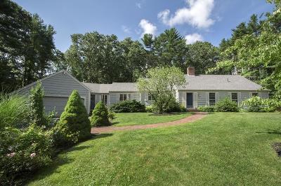 Duxbury Single Family Home Under Agreement: 77 Meetinghouse Road