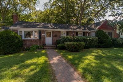 Dedham Single Family Home For Sale: 110 Alden St.