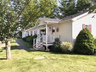 Middleboro Single Family Home Under Agreement: 1204 Green Street #OAK POIN