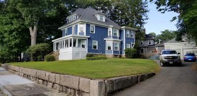 Brockton Single Family Home For Sale: 64 Highland Ter