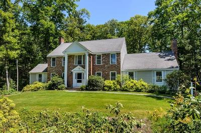 Wayland Single Family Home Under Agreement: 7 Folsoms Pond Road