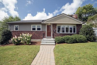 Arlington MA Single Family Home Under Agreement: $699,000