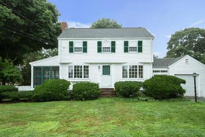 Westwood Single Family Home Under Agreement: 102 Greenacre Rd