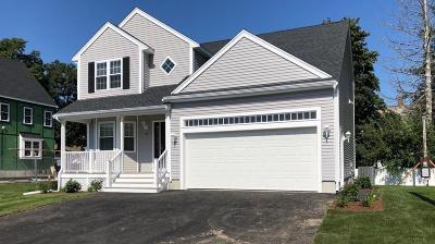 Brockton Single Family Home For Sale: 37 Leach Avenue
