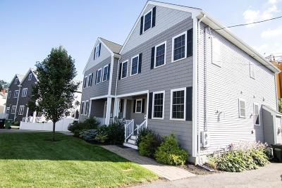 Watertown Condo/Townhouse Under Agreement: 7 Molloy Street #7