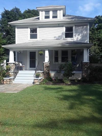 Braintree Single Family Home Under Agreement: 56 Wyman Rd