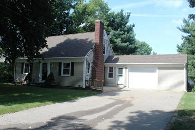 Attleboro Single Family Home Under Agreement: 831 West St