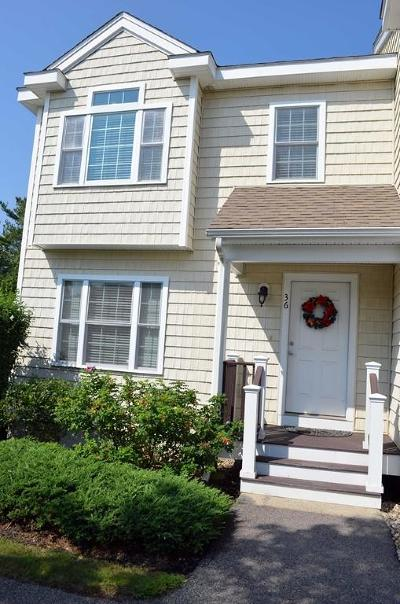 Canton Condo/Townhouse For Sale: 36 Turtle Brook Rd #36