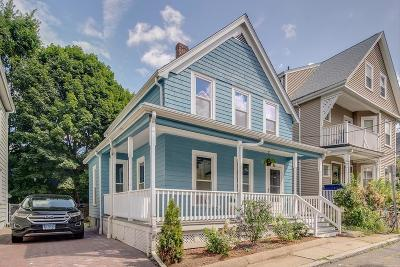 Somerville Single Family Home Under Agreement: 9 Mountain Avenue