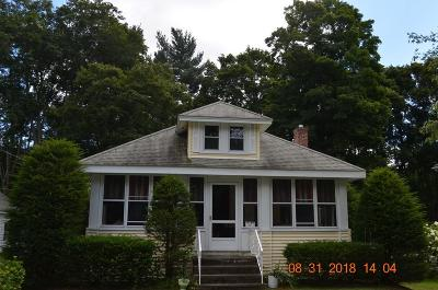 West Bridgewater Single Family Home Under Agreement: 17 Walnut St