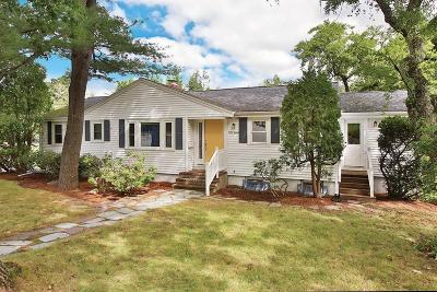 Newton Single Family Home Under Agreement: 210 Upland Ave