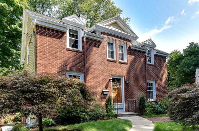 Dedham Single Family Home Contingent: 50 Maple Place
