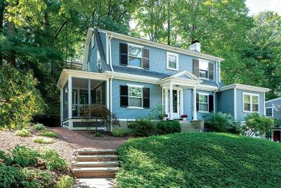 Newton Single Family Home Under Agreement: 194 Mill St