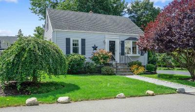 Dedham Single Family Home Under Agreement: 32 Hillcrest Ave.