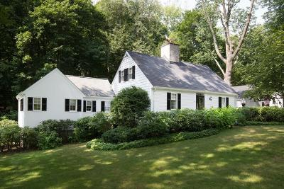 Wellesley Single Family Home Under Agreement: 31 Standish Road