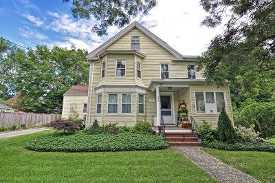 Needham Single Family Home Under Agreement: 613 Great Plain Avenue