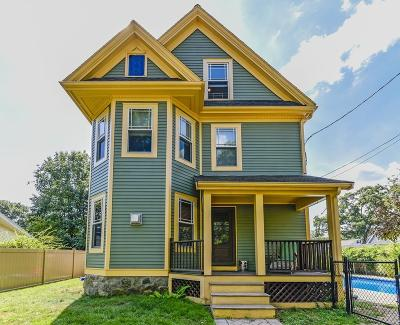 Dedham Single Family Home For Sale: 8 Gibson Avenue