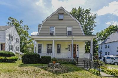 Dedham Single Family Home Back On Market: 22 Boulevard Rd
