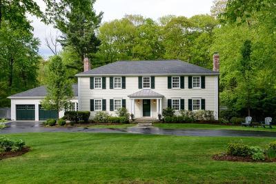 Wellesley Single Family Home Under Agreement: 56 White Oak Rd