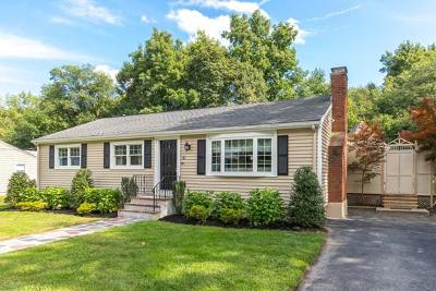 Woburn Single Family Home Under Agreement: 20 Revere Road