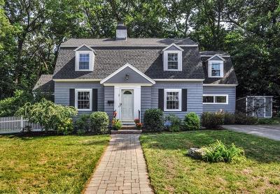 Needham Single Family Home Under Agreement: 8 Paul Revere Rd