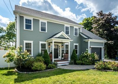 Waltham Single Family Home Under Agreement: 212 Pine Hill Circle