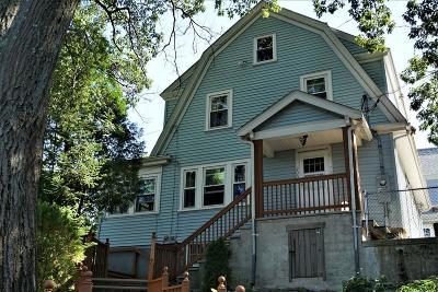 Malden Single Family Home Under Agreement: 200 Hawthorne St