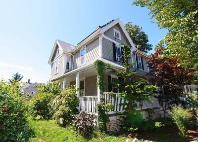 Boston Single Family Home Under Agreement: 16 Victoria St