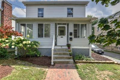 Watertown Condo/Townhouse Under Agreement: 75 Lexington St #2