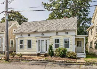 Gloucester Single Family Home Contingent: 17 Highland St