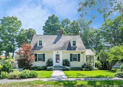 Dedham Single Family Home Contingent: 76 Maple Pl