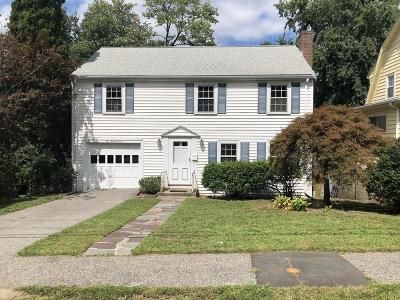 Waltham Single Family Home For Sale: 137 Florence Rd