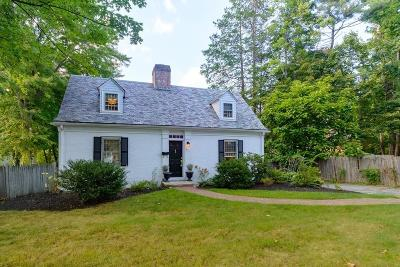 Wellesley Single Family Home Under Agreement: 373 Worcester St