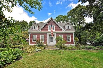 Attleboro Single Family Home For Sale: 597 North Main