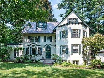 Wellesley Single Family Home For Sale: 21 Windsor Road