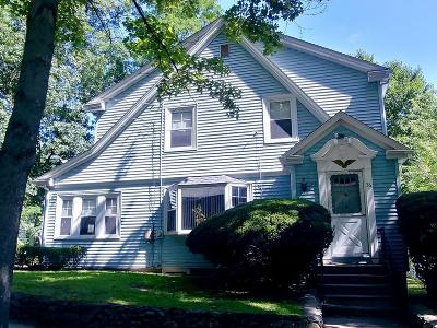 Newton Single Family Home Under Agreement: 36 Oakwood Rd