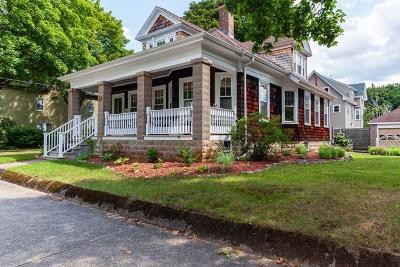 Attleboro Single Family Home For Sale: 32 Elizabeth