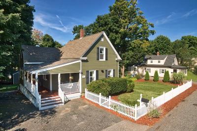 Hopkinton Single Family Home Under Agreement: 5 Mount Auburn St