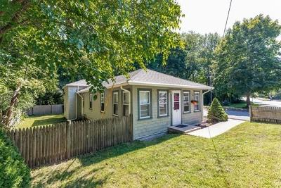 Halifax Single Family Home Under Agreement: 613 Monponsett St