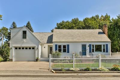 Dedham Single Family Home Contingent: 358 Central Ave