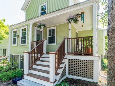 Arlington MA Single Family Home Under Agreement: $699,900