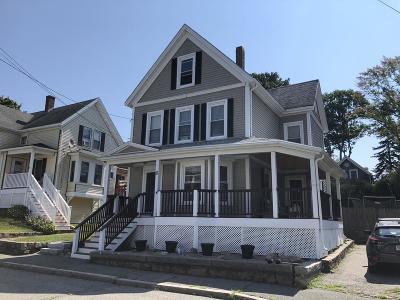 Gloucester Single Family Home Under Agreement: 11 Madison Ave