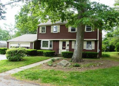 Hingham Single Family Home Under Agreement: 26 Brewster Road